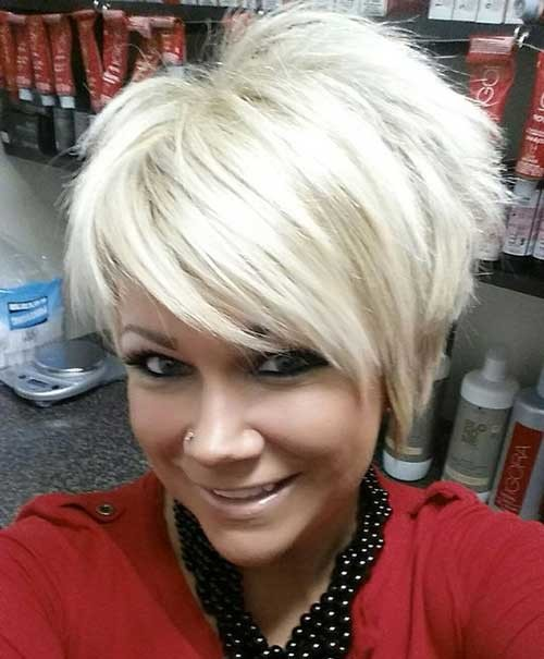 Stacked-Bob-2 Asymmetrical Short Haircuts for Fabulous Look