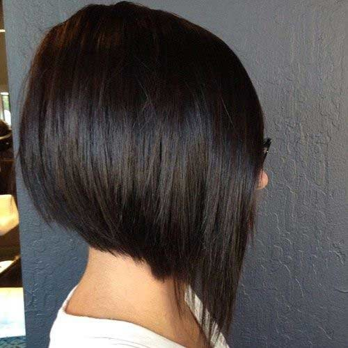 Stacked-Bob Best Must-Try Brunette Bob Haircuts