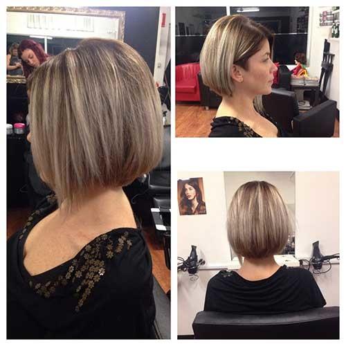 Straight-Bob-2 Short Haircut Pics for Straight Hair