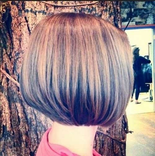 Straight-Layered-Bob Short Haircut Pics for Straight Hair