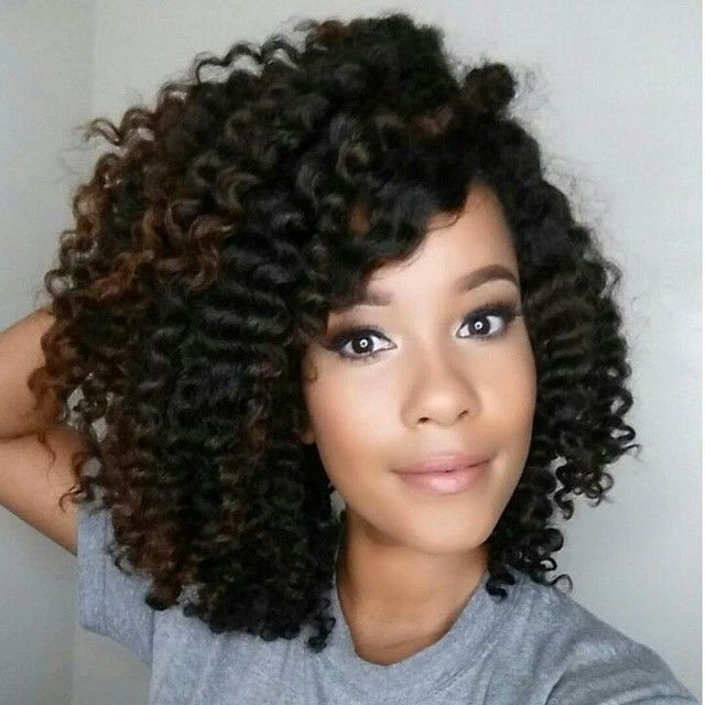 Three-Strand-Twist-Out Easy Natural Hairstyles for Black Women