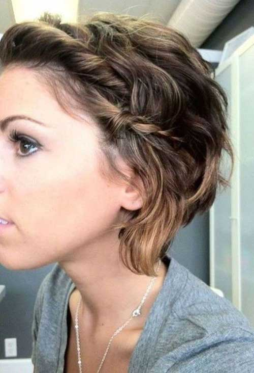 11.Cute-And-Easy-Short-Hair Cute And Easy Hairstyles For Short Hair