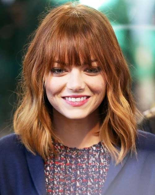 11.Hairstyle-for-Short-Medium-Hair Best Hairstyles for Short Medium Hair