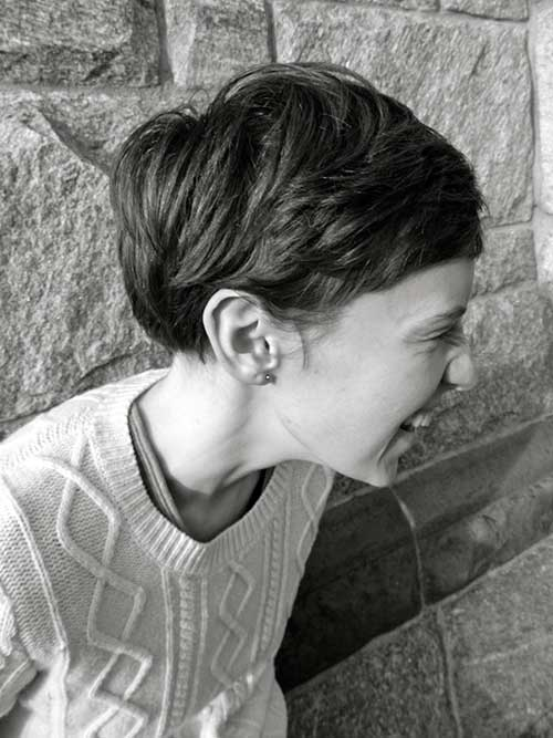13.Cute-And-Easy-Short-Hair Cute And Easy Hairstyles For Short Hair