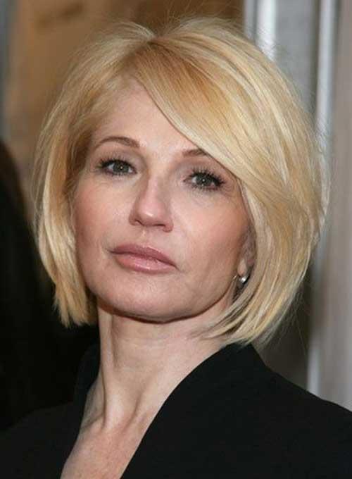 14.Short-Hair-For-Women-Over-40 Short Hair Cuts For Women Over 40