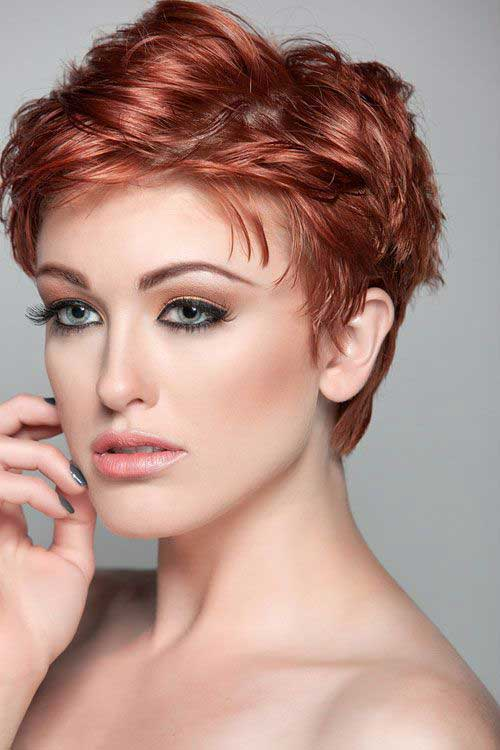 15.Short-Hair-For-Women-Over-40 Short Hair Cuts For Women Over 40