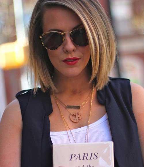 16.Hairstyle-for-Short-Medium-Hair Best Hairstyles for Short Medium Hair