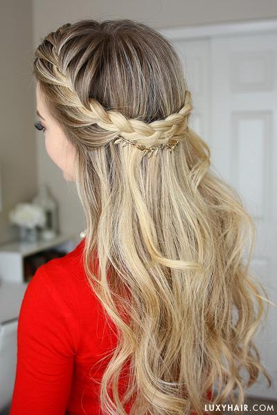 18-cute-french-braid-hairstyles-for-girls-2018 Cute French Braid Hairstyles for Girls
