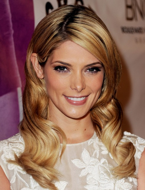 2014-Ashley-Greene-Hairstyles-Long-Wavy-Hair Top 100 Celebrity Hairstyles 2019