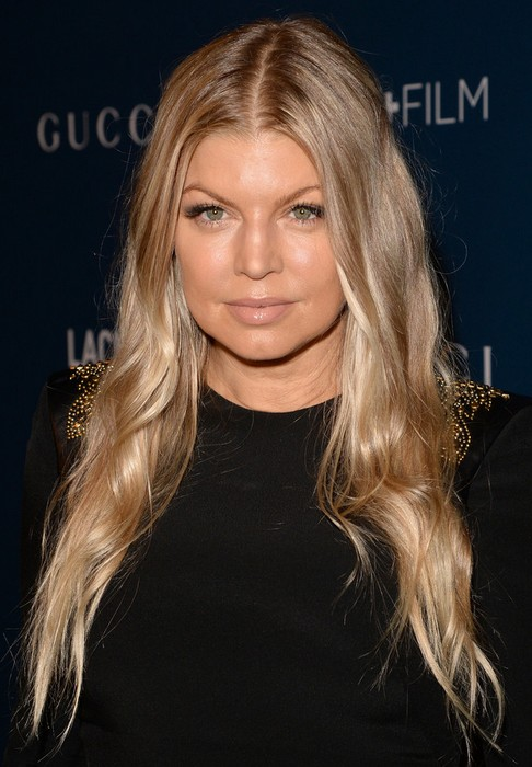 2014-Fergie-Hairstyles-Ombre-Long-Hair Top 100 Celebrity Hairstyles 2019