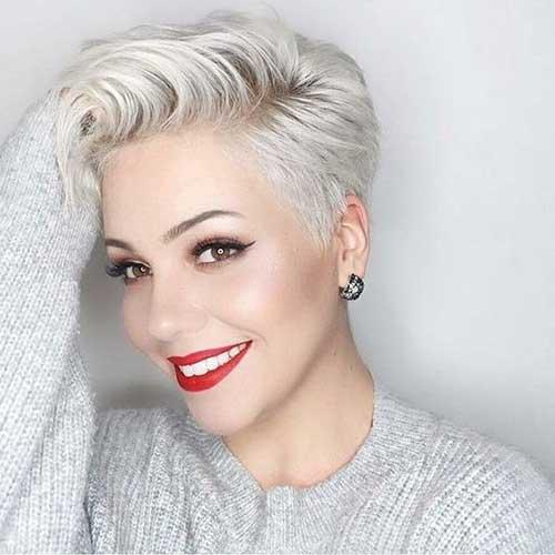 2019-Blonde-Hairstyle Modern Short Blonde Hairstyles for Ladies