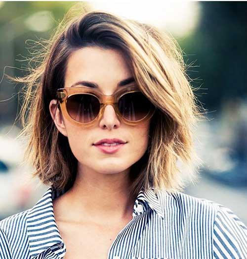22.Hairstyle-for-Short-Medium-Hair Best Hairstyles for Short Medium Hair