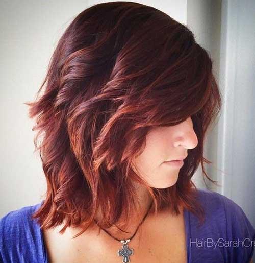 23.Hairstyle-for-Short-Medium-Hair Best Hairstyles for Short Medium Hair
