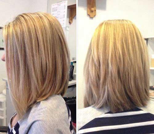 9.Hairstyle-for-Short-Medium-Hair Best Hairstyles for Short Medium Hair