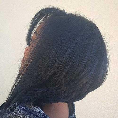Asymmetrical-Short-Bob-Haircut-for-Black-Women Short Bob Haircuts for Black Women