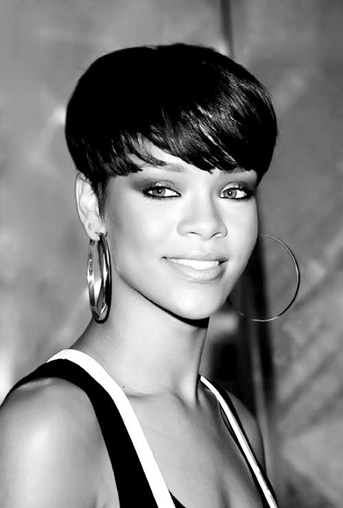 Black-Women-with-Short-Hairstyles-7 Black Women with Short Hairstyles