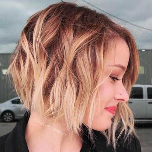 Blonde-Ombre-Style Latest Trend Hair Color Ideas for Short Hair