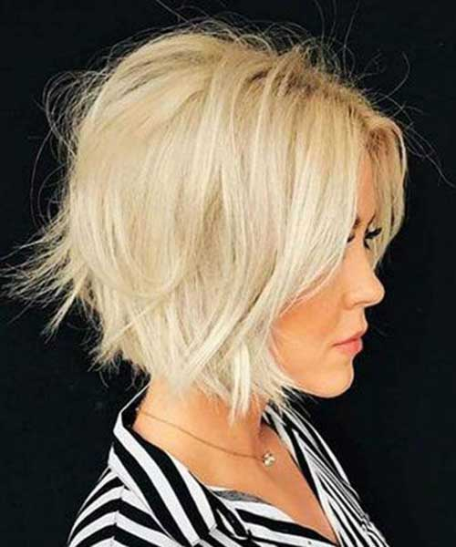 Choppy-Short-Haircut-for-Blonde-Hair Modern Short Blonde Hairstyles for Ladies
