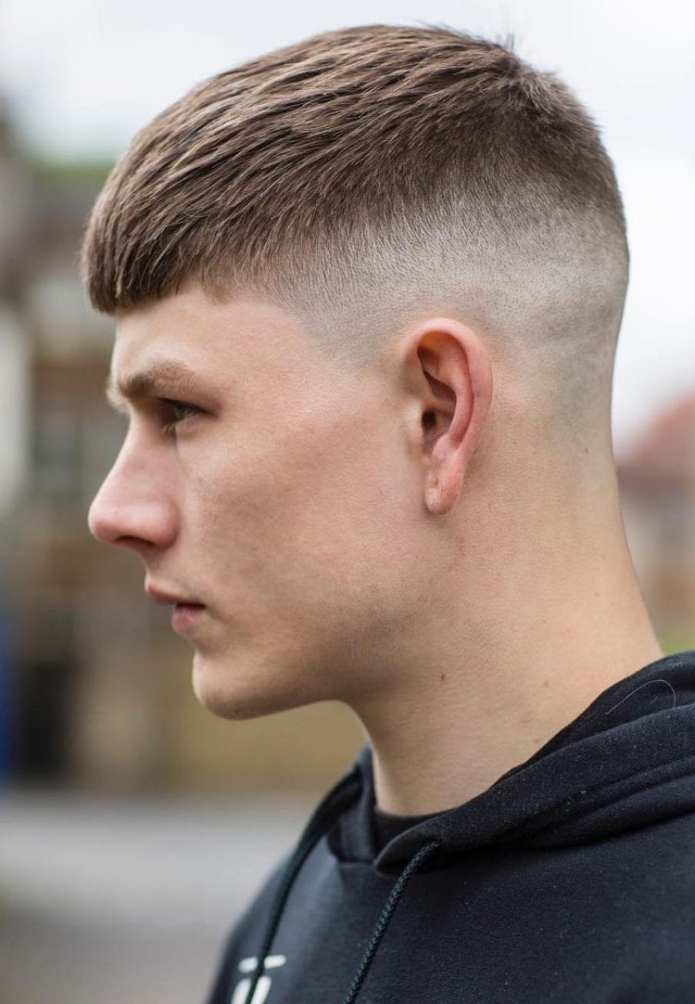 Classic-Laid-Top-with-Shaved-Neckline Stylish Undercut Hairstyle Variations For 2019