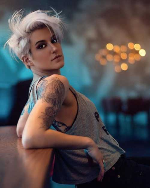 Cool-Pixie-Style-Women Latest Short Haircuts for Women - Short Hairstyle