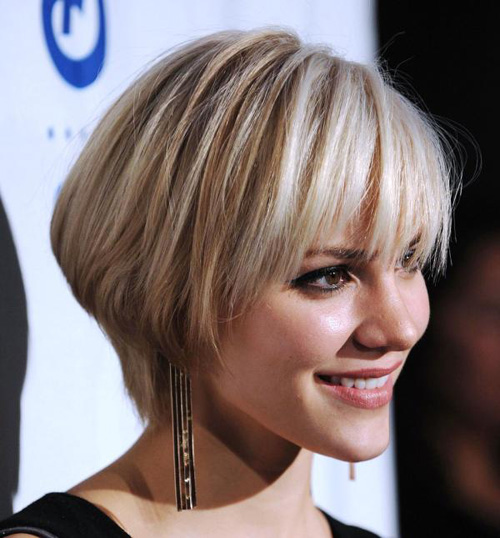 Cool-Short-Bob-Haircuts Very Short Haircuts with Bangs for Women