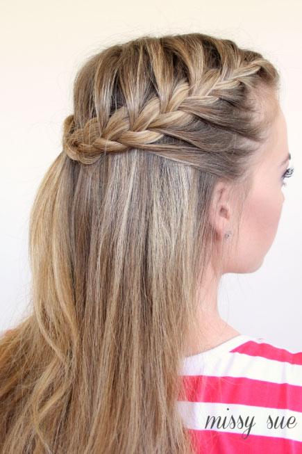 Cute-French-Braid-Hairstyles-for-Girls Cute French Braid Hairstyles for Girls