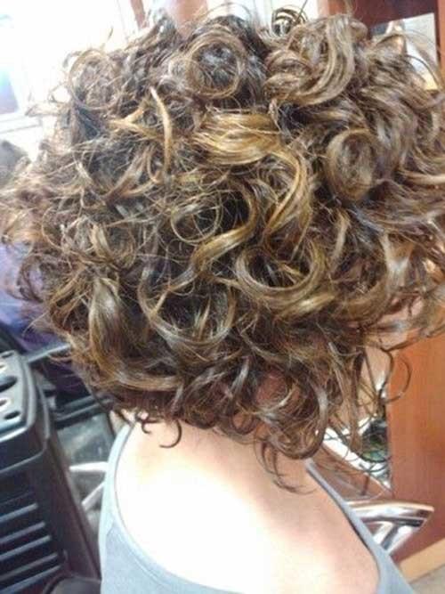 Cute-Short-Curly-Haircut Cute Short Haircuts For Curly Hair