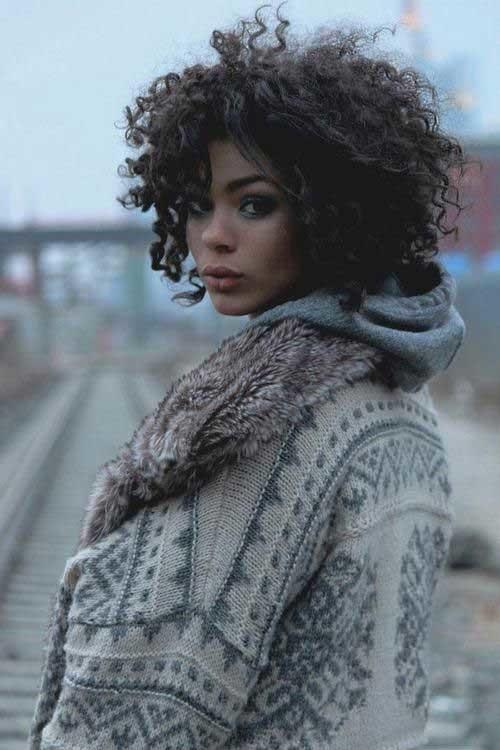 Cute-Short-Haircut-For-Curly-Hair Cute Short Haircuts For Curly Hair
