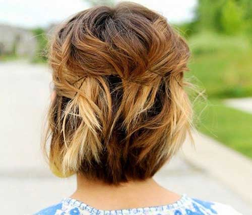Easy-Cute-Hairstyle-For-Short-Hair Cute And Easy Hairstyles For Short Hair