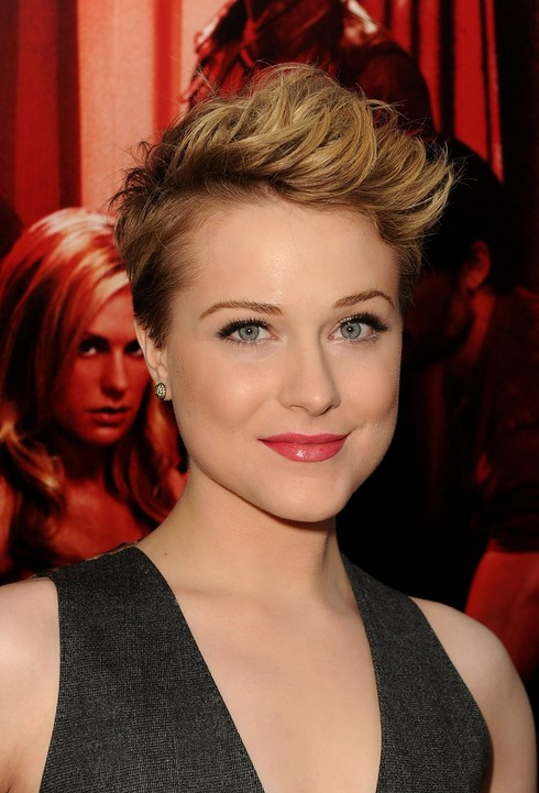Evan-Rachel-Wood-Pixie-Cut-for-Short-Hair Popular Short Hairstyles for Women 2019