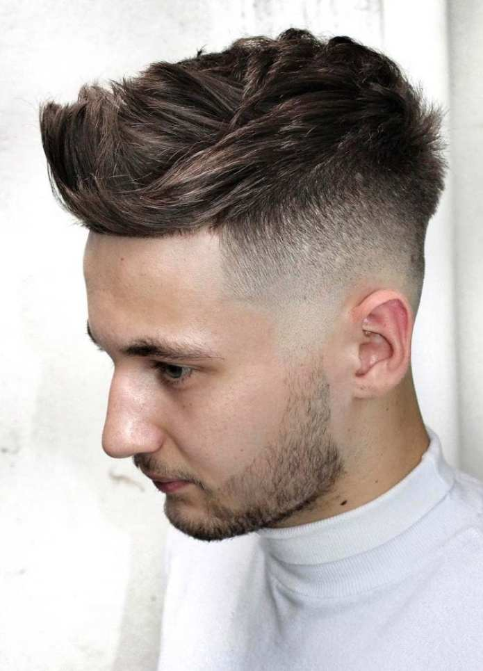 Faded-Undercut Stylish Undercut Hairstyle Variations For 2019
