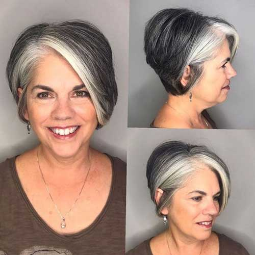 Gorgeous-Short-Hair-Older-Women 2019 Short Haircuts for Older Women