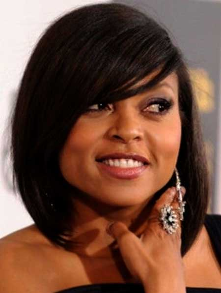 Gorgeous-Short-Straight-Bob Short Hairstyles for Black Women