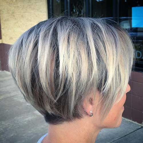 Grey-Balayages Best Bob Haircuts You will Love 2019