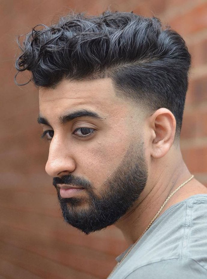 Loose-Curly-Hair-Undercut-Fade Stylish Undercut Hairstyle Variations For 2019