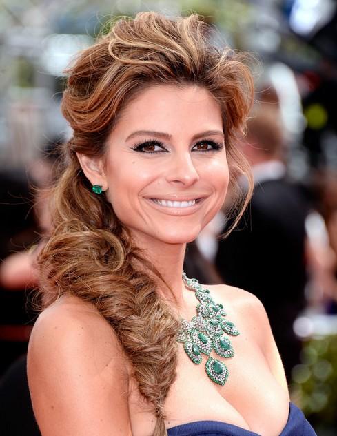 Maria-Menounos-Hairstyles-Fishtail-Braid-Ideas-2014 Top 100 Celebrity Hairstyles 2019