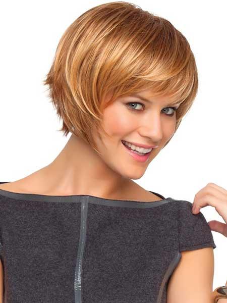 Medium-Short-Cut New Short Blonde Hairstyles