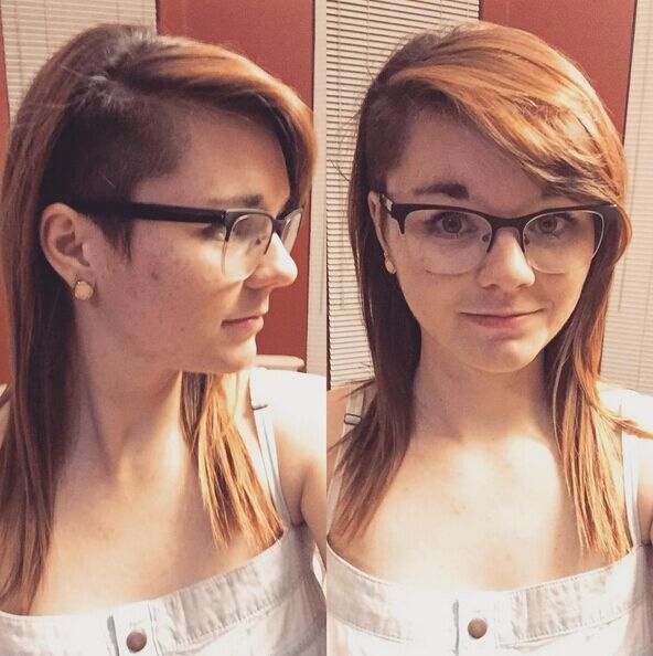 Medium-Undercut-Hairstyle Awesome Undercut Hairstyles for Girls