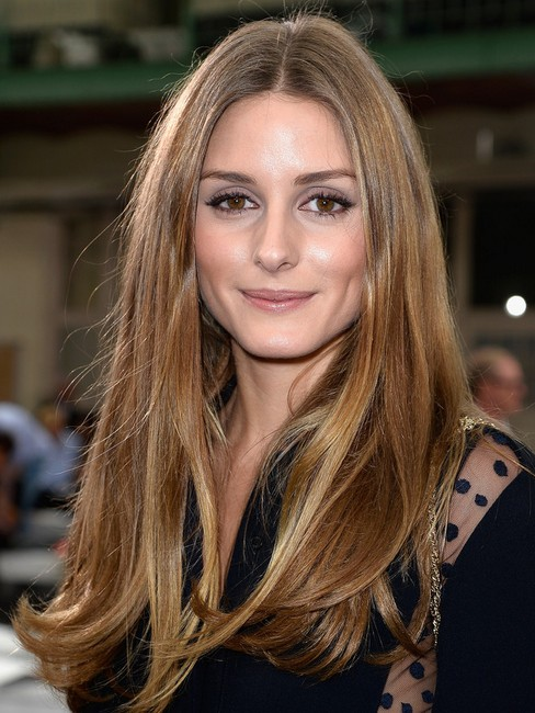 Olivia-Palermo-Hairstyles-2014-–-Straight-Long-Hair-Cuts Top 100 Celebrity Hairstyles 2019