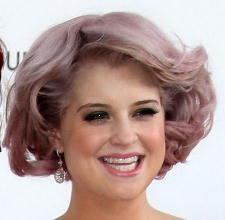 Pastel-Purple-Short-Hair-with-Inverted-Ends Short Haircuts and Color Ideas