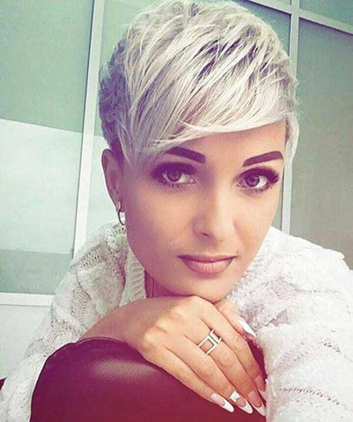 Pixie-Cut-2 Modern Short Blonde Hairstyles for Ladies