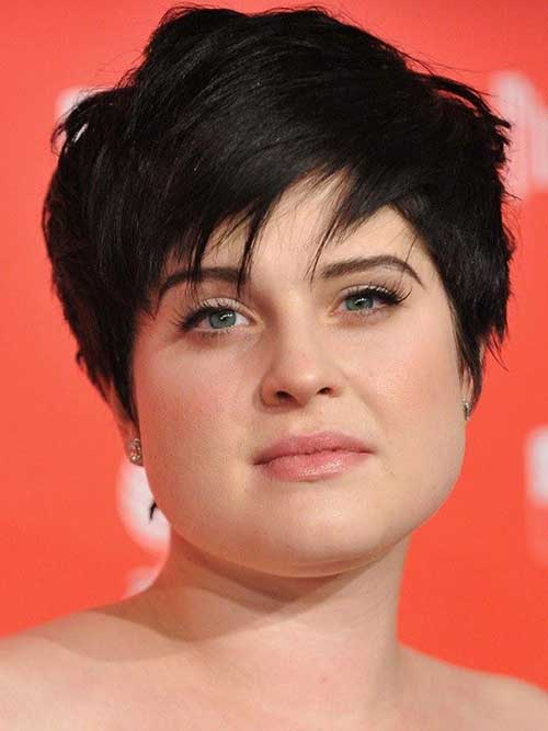 Pixie-Cut-for-Chubby-Round-Faces Best Pics of Layered Short Hair for Round Face