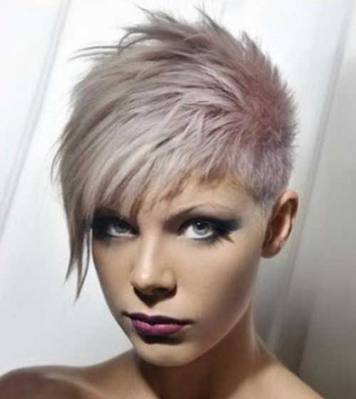 Punk-Short-Cropped-Hair-with-Layers Best Punky Short Haircuts