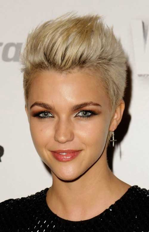 Ruby-Rose-short-hair Top Celebrity Short Haircuts