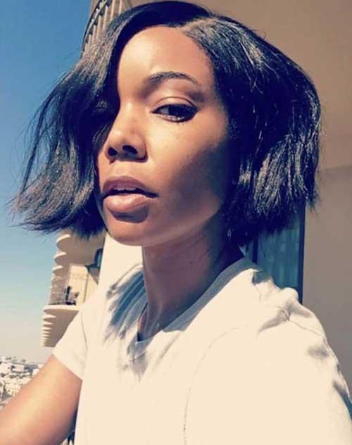Short-Bob-Cut-1 Latest Short Natural Hairstyles for Black Women