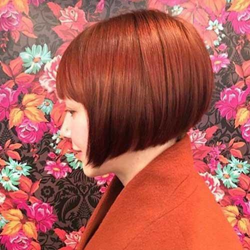 Short-Bob-Haircut-with-Bangs-2019 Latest Short Bob Haircuts for Women