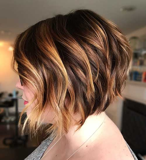 Short-Bob-Hairstyle Best Short Layered Haircuts for Women Over 50