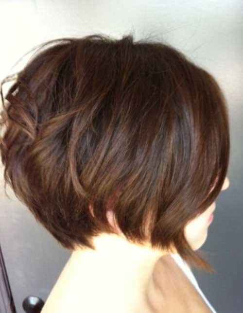 Short-Bob-Style Charming Short Brunette Hairstyles
