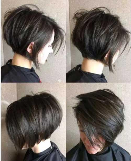 Short-Bob-for-Thick-Hair Latest Short Bob Haircuts for Women