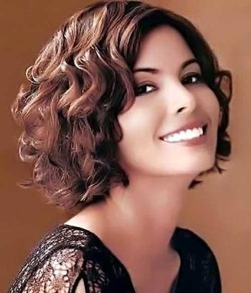 Short-Haircuts-For-Curly-Hair-2 Cute Short Haircuts For Curly Hair